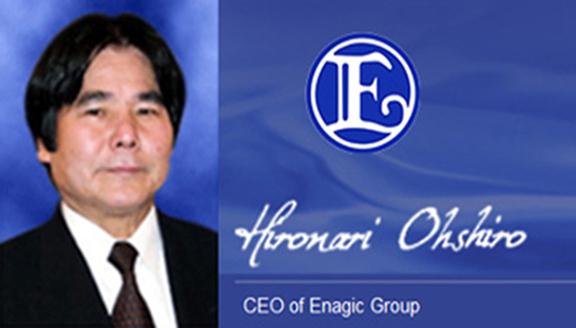 CEO Enagic Mr. Hironari Oshiro