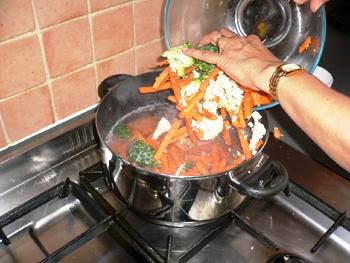 Μαγείρεμα των τροφίμων με αλκαλικό νερό Kangen