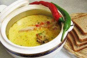 Σούπες που παρασκευάζονται με αλκαλικό νερό Kangen.