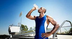 νερό και υγεία αθλητές