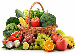 Αφαιρέσετε φυτοφάρμακα από φρούτα και λαχανικά