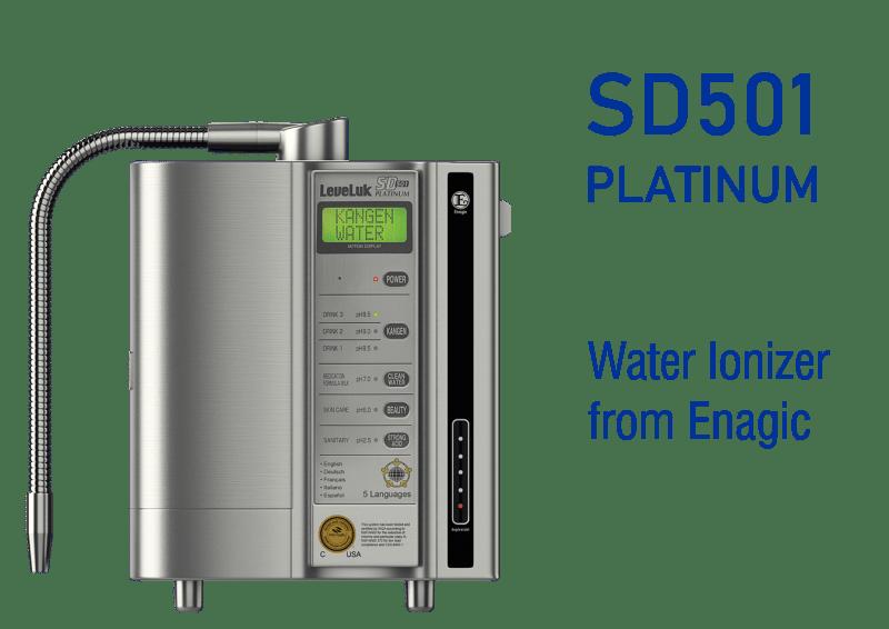SD501 Platinum Water ionizer from Enagic